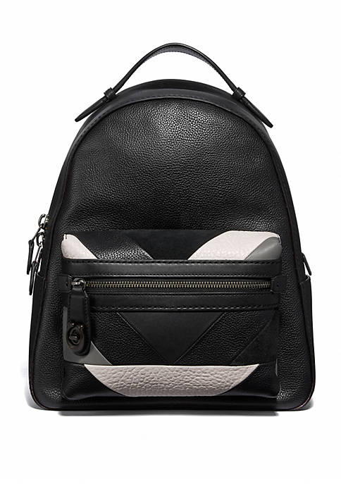 Campus Patchwork Backpack