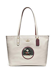 Minnie Mouse Patches City Tote