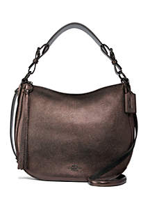 Sutton Metallic Hobo Bag