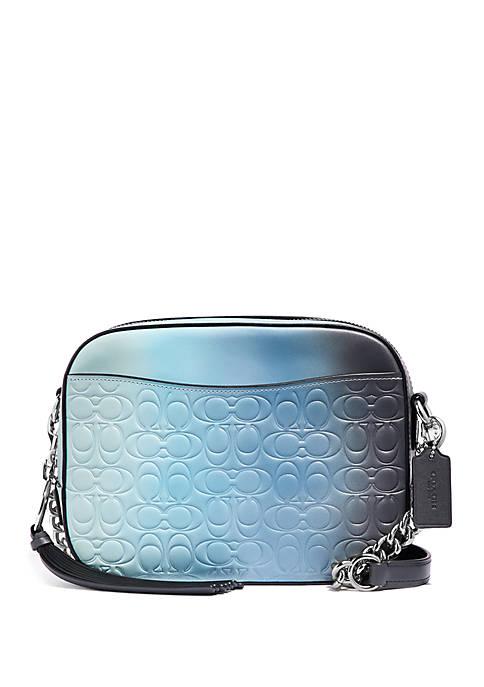 COACH Ombre Signature Leather Camera Bag