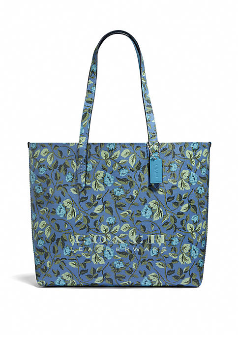 COACH Highline Floral Print Tote Bag