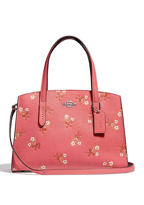 COACH Charlie 28 Floral Print Carryall