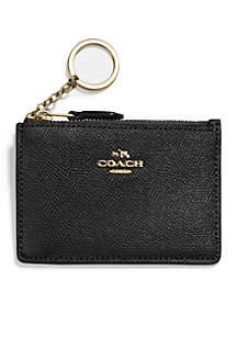 COACH Mini Skinny ID Case In Crossgrain Leather