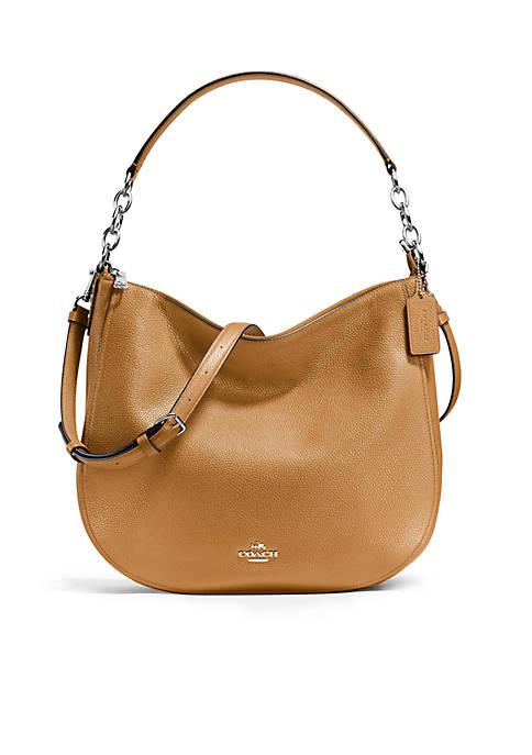 Chelsea Hobo in Polished Pebble Leather