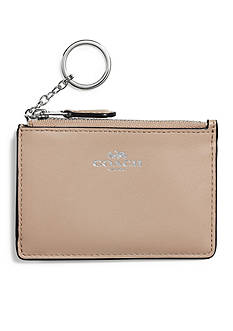 COACH Boxed Mini Skinny ID Case in Refined Calf Leather