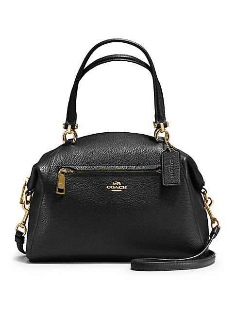 COACH Prairie Pebble Satchel