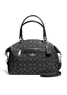 7c005066d2821f ... COACH Prairie Satchel In Signature Canvas