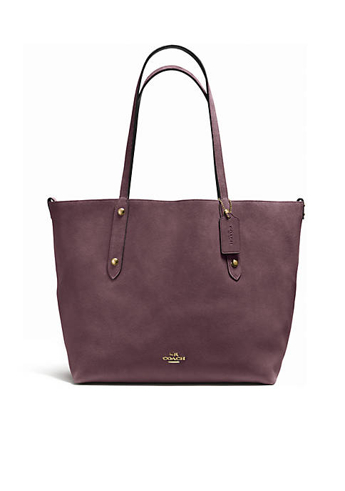 COACH Suede Large Market Reversible Tote