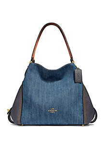 The Sak Kendra Hobo · COACH Edie 31 Denim and Leather Shoulder Bag b90a8d2fbbdd1