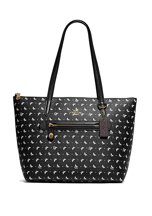 COACH Taylor Butterfly Print Tote Bag