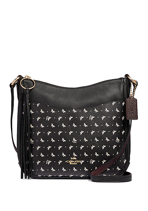 Chaise Butterfly Print Crossbody