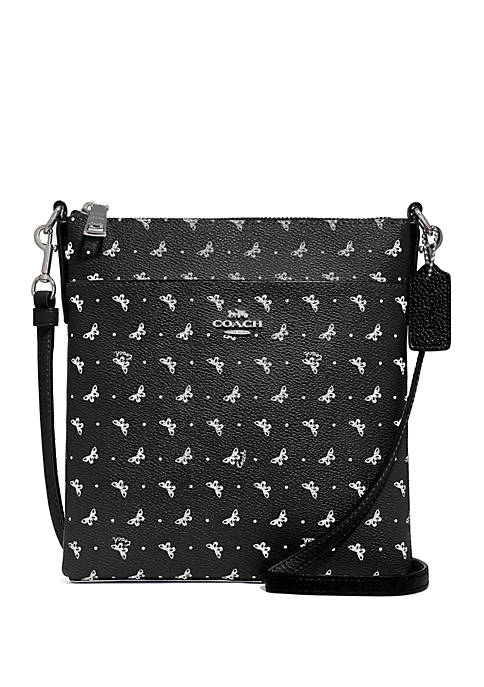 COACH Kitt Butterfly Print Crossbody