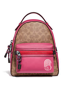COACH Campus 23 Signature Patch Backpack