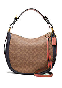 COACH Sutton Signature Hobo