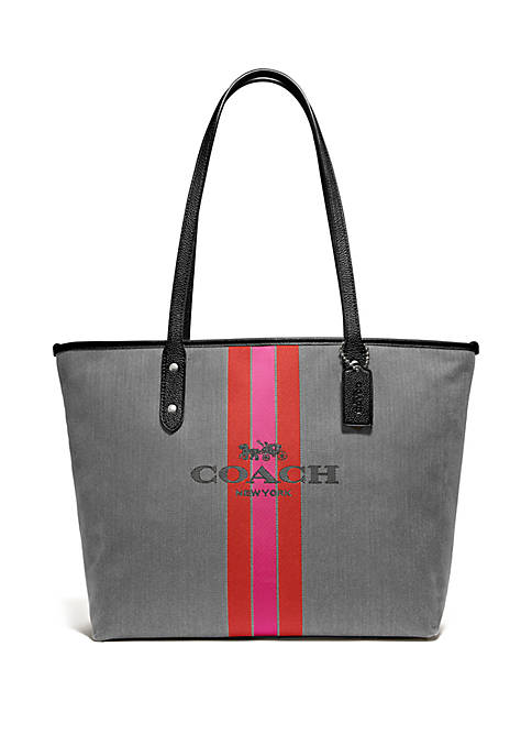 COACH Jacquard City Tote Bag