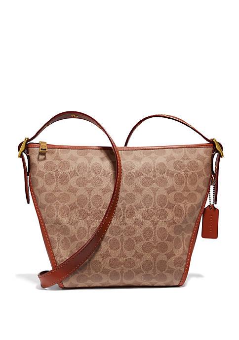 COACH Signature Small Dufflette Crossbody Bag