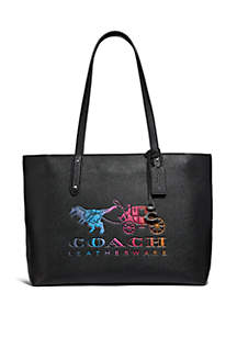 COACH Rexy and Carriage Central Tote