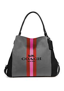 COACH Edie 31 Jacquard Shoulder Bag