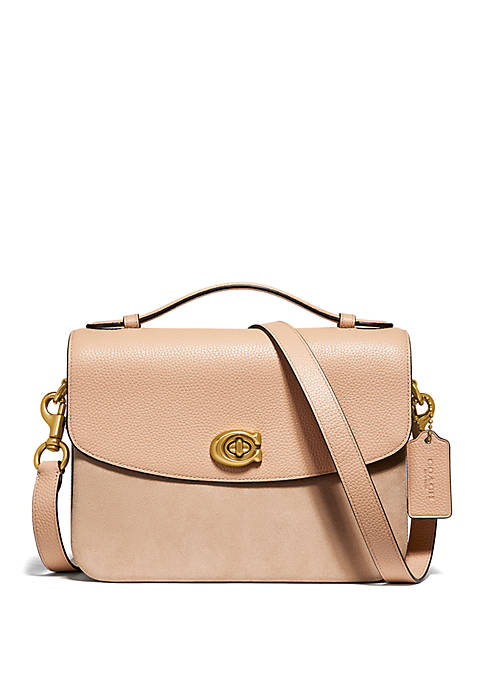 COACH Cassie Mixed Leather Crossbody Bag