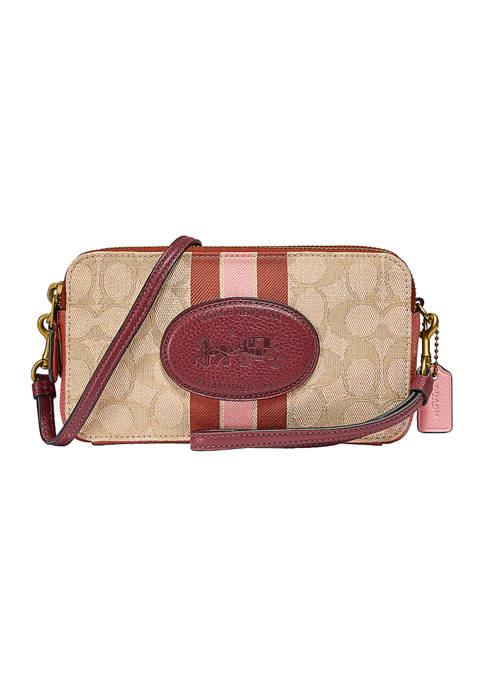 Kira Crossbody in Signature Jacquard with Horse and Carriage