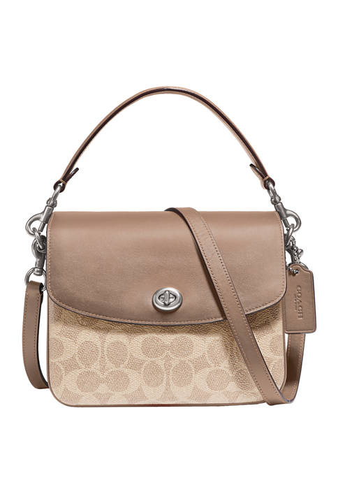 COACH Cassie Signature Canvas Crossbody
