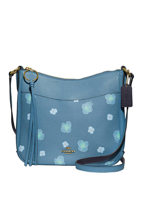 COACH Chaise Crossbody with Pansy Print