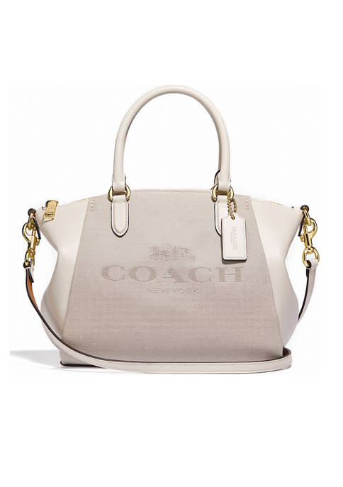 COACH Elise Satchel With Horse and Carriage Print