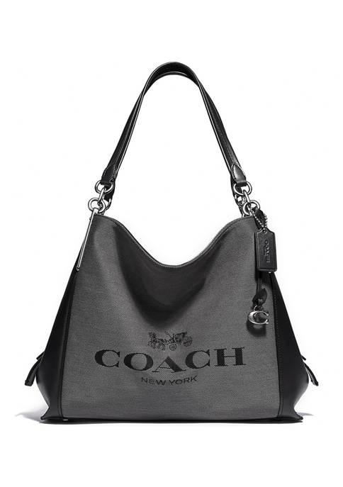 COACH Dalton 31 Shoulder Bag with Horse and