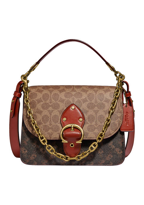 COACH Beat Shoulder Bag in Signature Canvas with