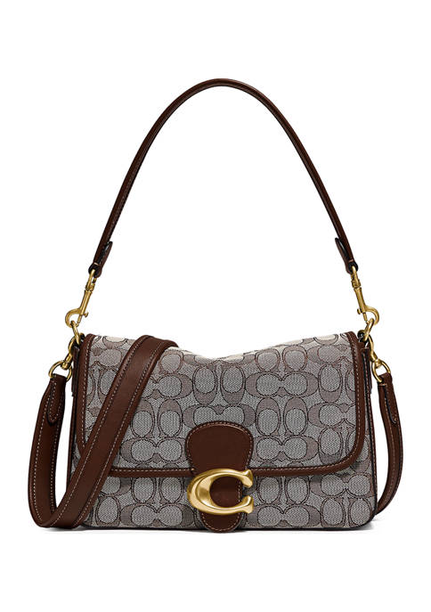 COACH Soft Tabby Shoulder Bag in Signature Jacquard