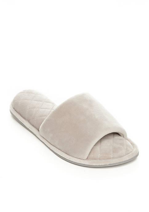 Dearfoams® Microfiber Velour Slippers