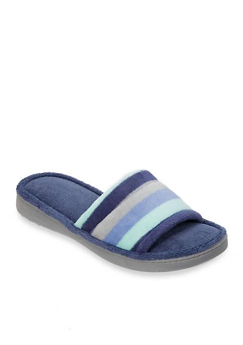 Dearfoams® Microfiber Terry Slide Slippers