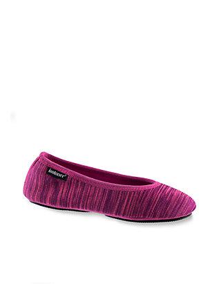 c78079e1889d Totes Isotoner. Totes Isotoner Knit Travel Ballerina Slippers