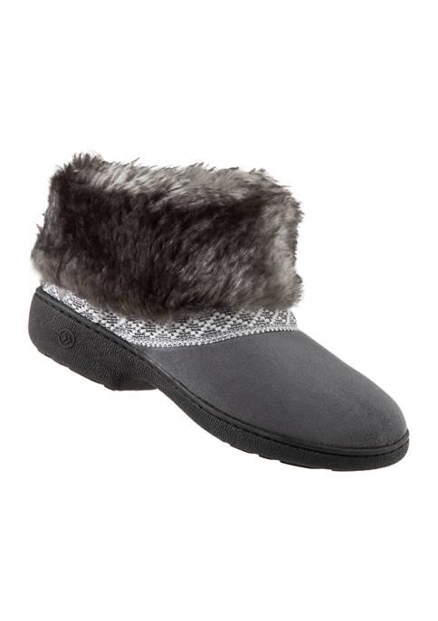 Microsuede Basil Hoodback Boots
