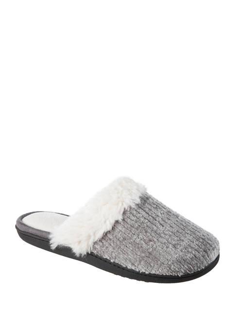 Signature Velour Slippers