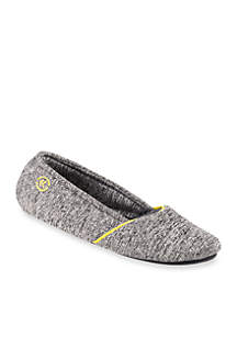 Heathered Sport Ballerina Slippers