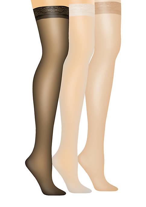 Hanes® Silk Reflections Thigh High