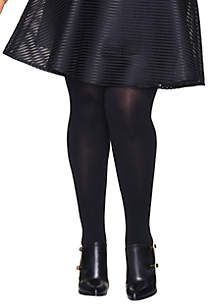 Curves Sheer Tights with Control Top