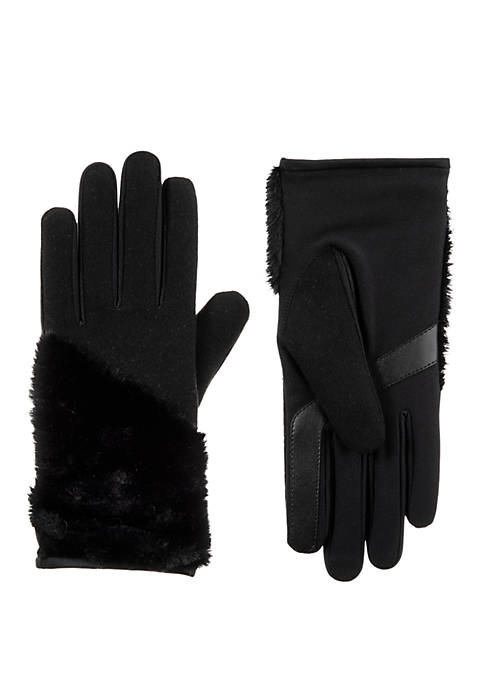 Totes Isotoner Boiled Wool Touchscreen Gloves