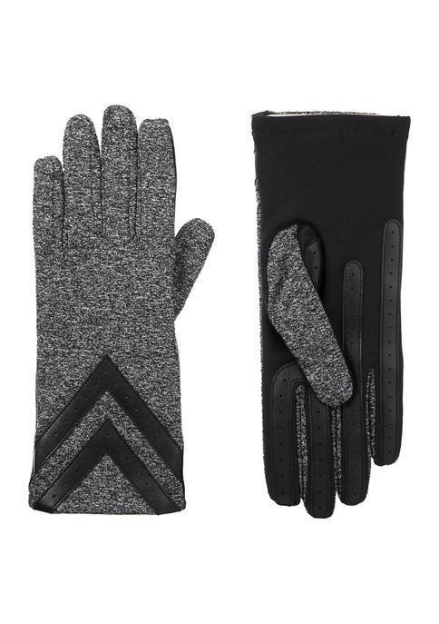 Totes Isotoner Spandex Shortie Gloves