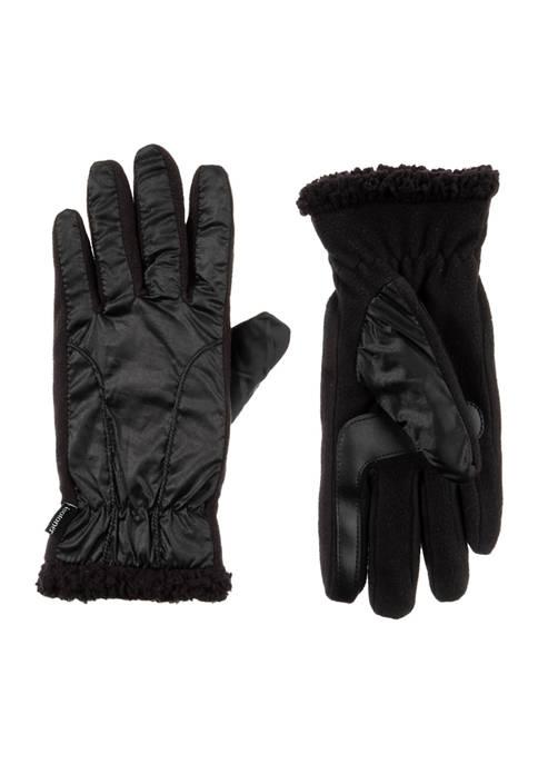 Totes Isotoner Womens Sleekheat Chevron Gloves