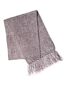 Women's Solid Chenille Scarf