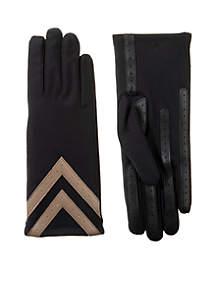 smartDRI® Chevron Spandex Stretch Touchscreen Gloves