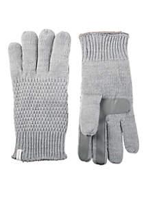 Women\u2019s Textured Knit Touchscreeen Gloves