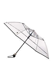 Clear Compact Umbrella