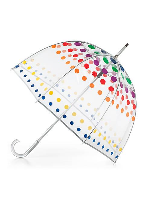 Manual Transparent Bubble Umbrella