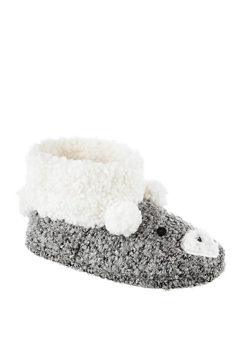 Totes Curly Bear Booties