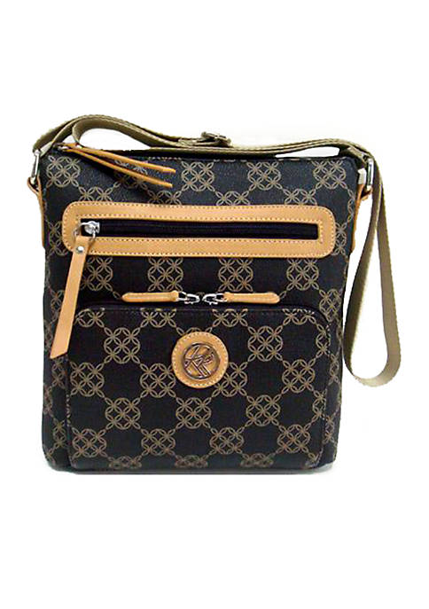 Kim Rogers® Circle Signature Crossbody