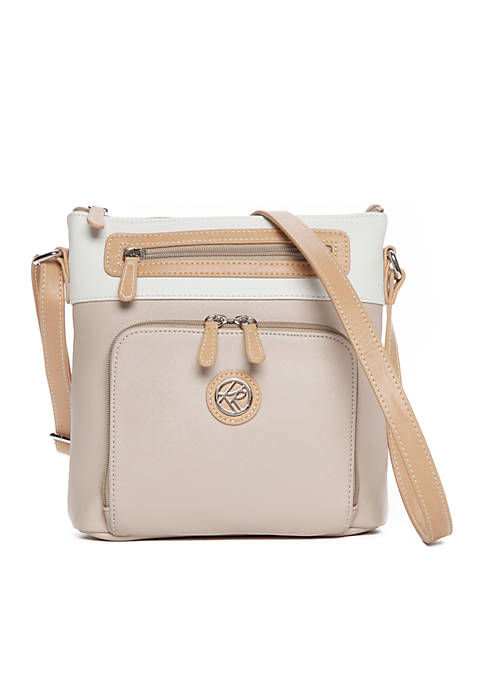 Kim Rogers® Saffiano Colorblock Crossbody