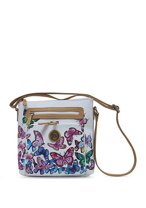 Kim Rogers® Saffiano Crossbody Bag